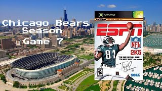 ESPN NFL 2K5 - Xbox - Chicago Bears Season - Game 7