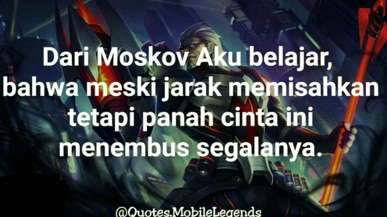 kumpulan quotes pecinta mobile legends