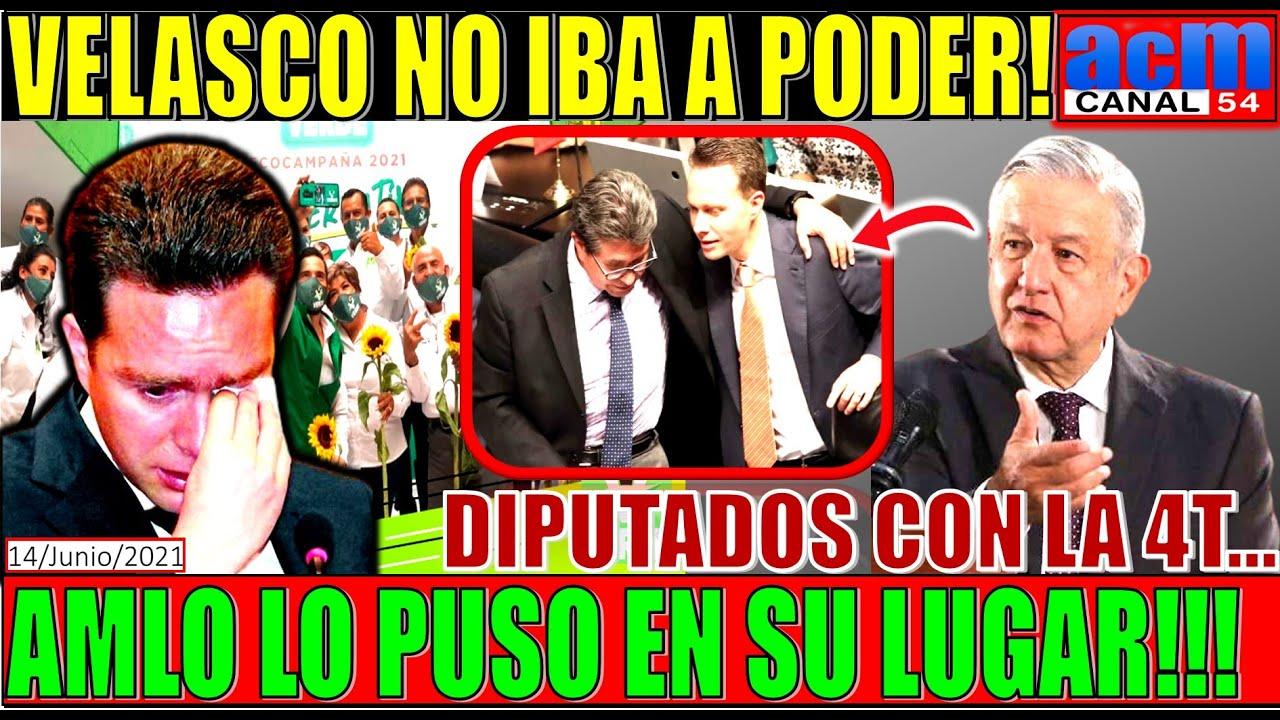 LE BAJARON LOS HUMOS A VELASCO!!! NI LOS DIPUTADOS DEL VERDE LE HACEN CASO, AQUÍ EXPLICO TODO!!!