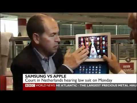 Samsung Galaxy Tablet vs Apple iPad - BBC News