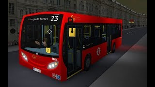 ROBLOX | London & South Bus Simulator V7.1 | Route 23: Marble Arch to Liverpool Street
