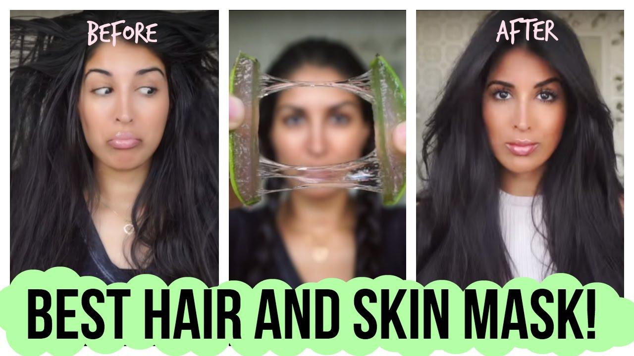 Best Hair And Skin Mask Youtube