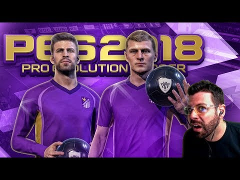 PES 2018 MyClub START! SO MANY HUGE PLAYERS!! #1 Pro Evolution Soccer 2018