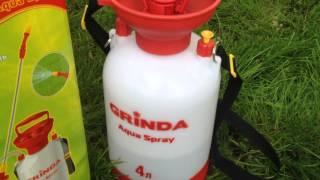 Видео обзор опрыскиватель садовый GRINDA