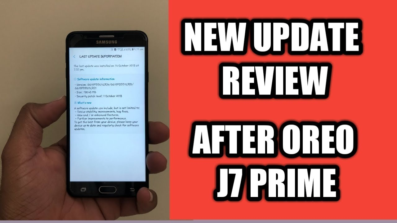 J7 PRIME NEW UPDATE FULL REVIEW/ AFTER OREO / TOSHIN TECH - Toshin Tech