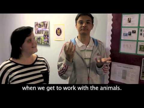 College Life & Student Views - BSL, Subtitles & English