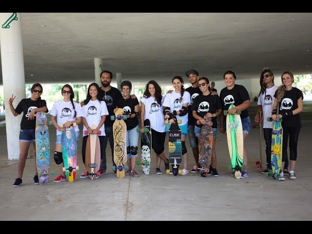 [ Aula de Long  RJ Aula de Skate Longboard ] #LONGBOARDPARAMENINAS SP 1ª Edição