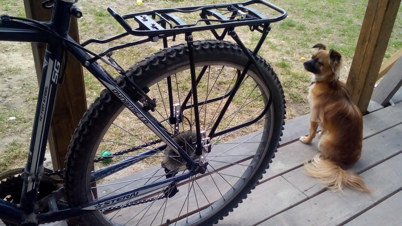Как сделать багажник на велосипед фото 603