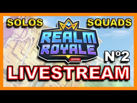 REALM ROYALE PTS LIVESTREAM - SOLOS AND SQUAD