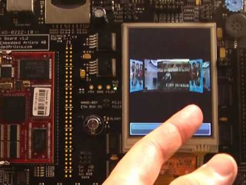 IS2T LCD Graphics Library Demonstration with NXP LPC1788