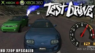 Test Drive - Gameplay Xbox HD 720P (Xbox to Xbox 360)