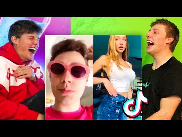 TIK TOK TRY NOT TO LAUGH CHALLENGE vs MY BRO