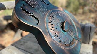 Ventura Highway (America) - Recording King - Swamp Dog Resonator Guitar