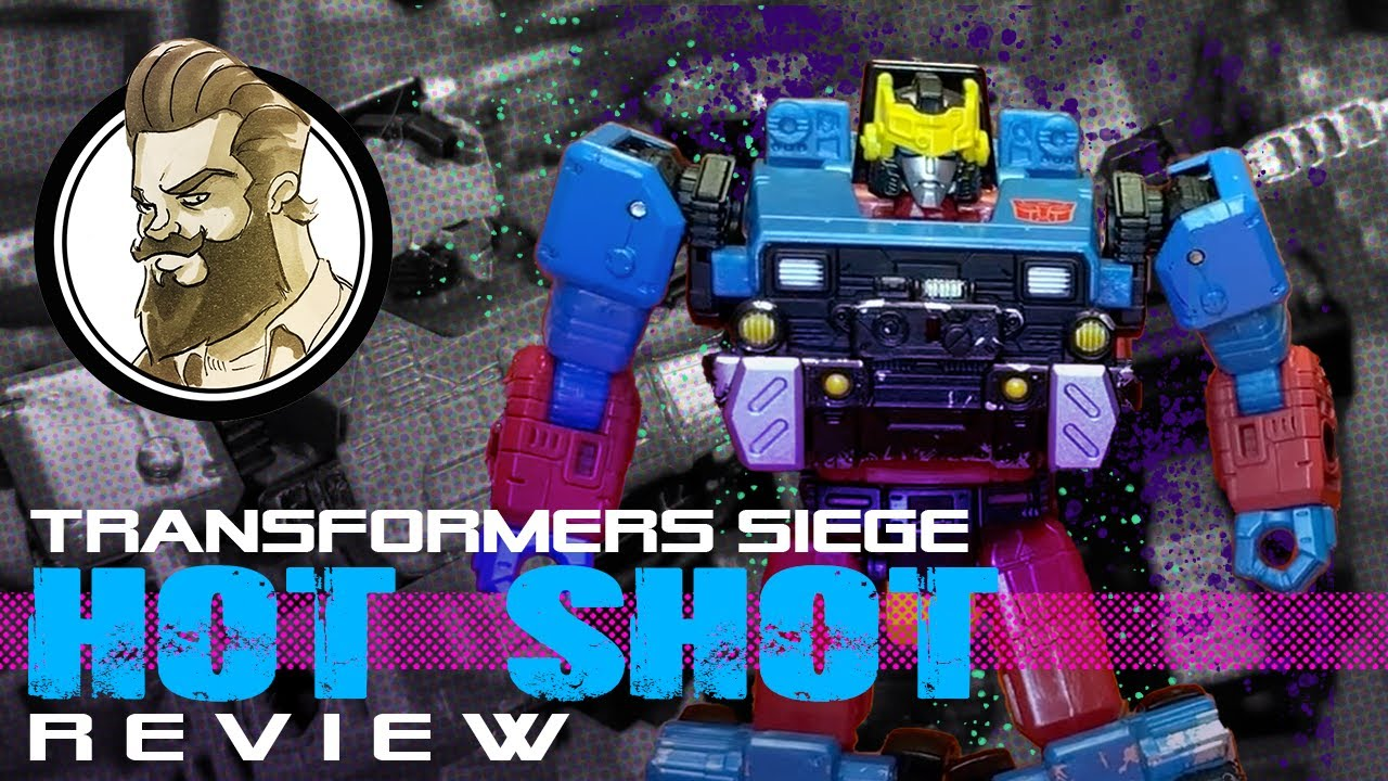WFC Siege HOT SHOT Review - I Want More Unicron Throwbacks