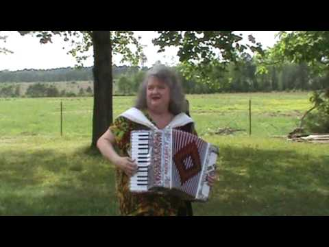 Gospel Accordion Medley  JOAN~ Ill Fly Away and Do Lord