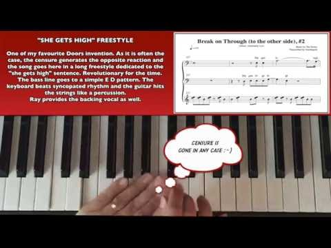 How to play Break on through #2 on piano!