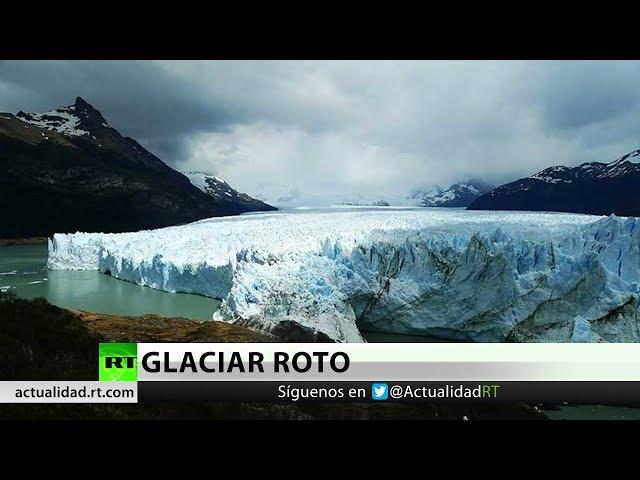 El derrumbe del glaciar Perito Moreno se adelanta