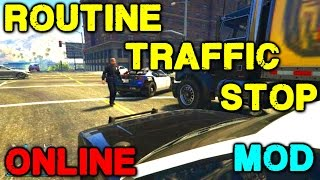 LSPD:FR #Day2 Routine Traffic Stops Online GTA5