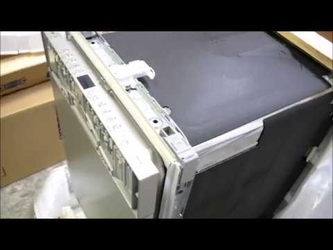 Как открыть новую посудомоечную машину bosch