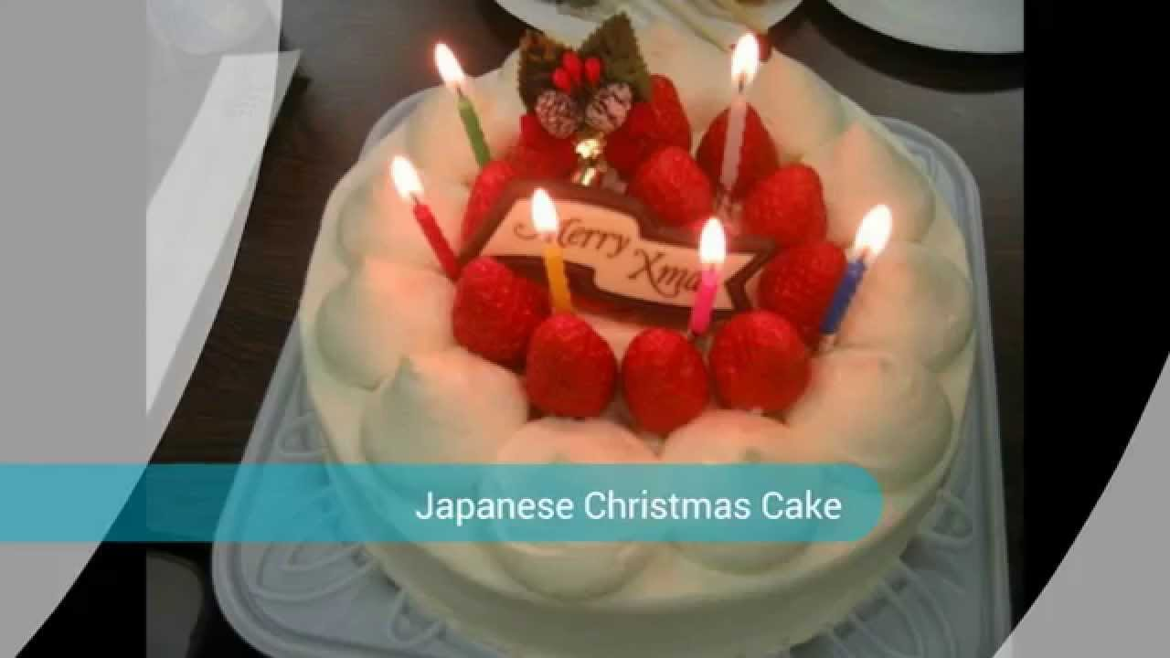 christmas celebrations in japan cakes - Japanese Christmas Decorations