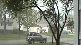 A tornadic thunderstorm.