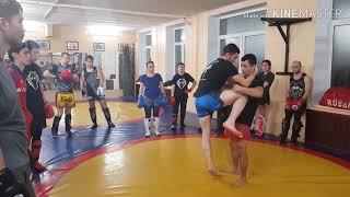 Урок Тайского бокса N10 подсечка под опорную ногу, тренировки в ЮВАО Текстильщики.