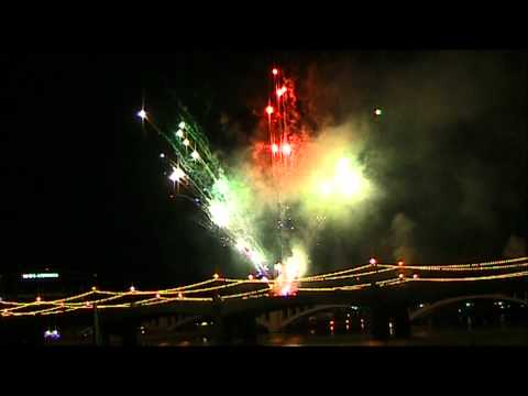 4th July Firework Display Tempe Arizona HD