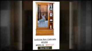 Gun Cabinets - Wood Gun Cabinets For The Utmost In Gun Safe