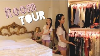❤️ Elaine Hau - 我的房間和客房遊覽 (洛杉磯) Room & Guest Room Tour (Los Angeles)