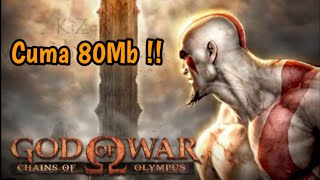 Downloaf Game God of War - Chains of Olympus | PPSSPP Android | Link + Cara Instal