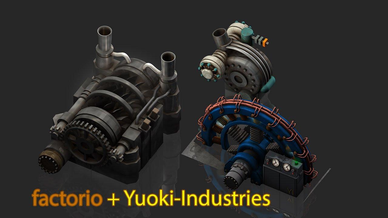 Factorio 11.15 - Mod Yuoki-Industries - Show Basics 5 - Boiler ...