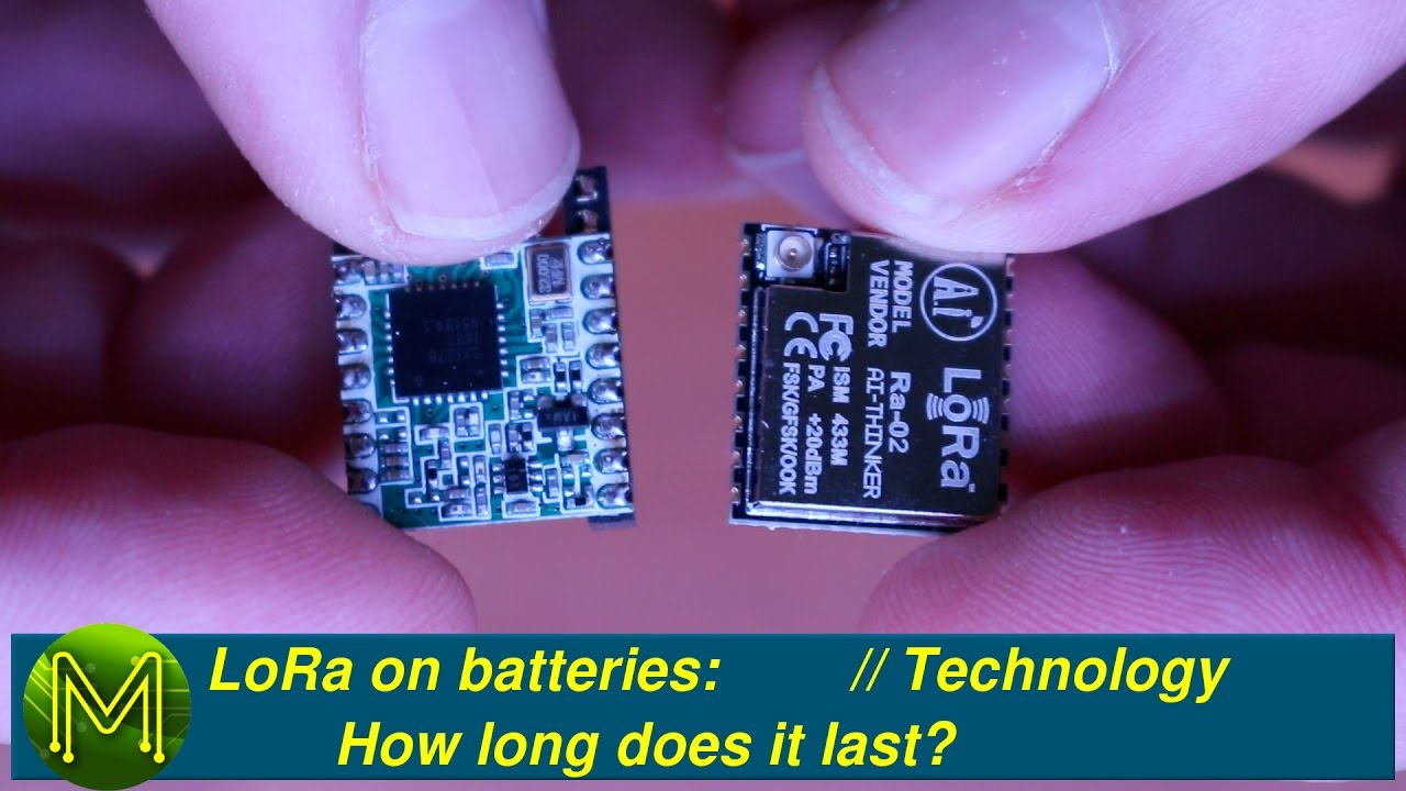 #120 LoRa on batteries: How long does it last? // Tutorial