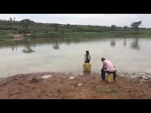 Water Source in Gikumba Village of Kayonza district, Rwanda