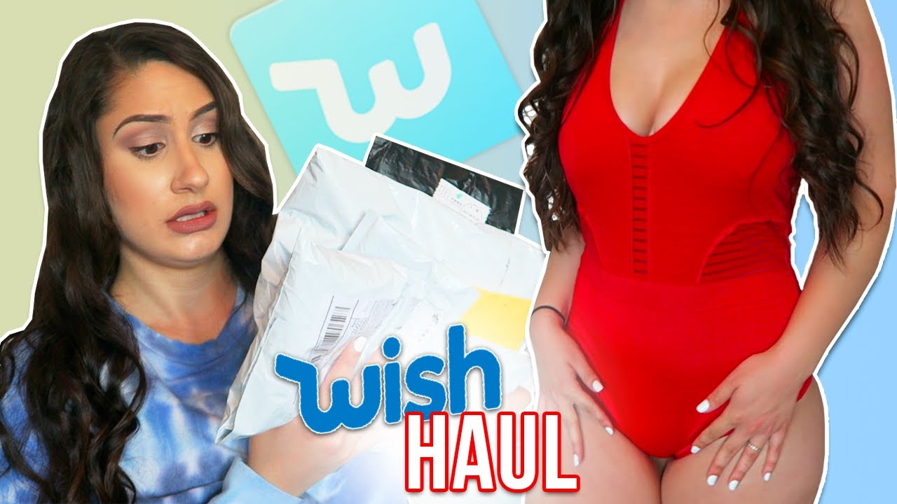 c6046037c6d WISH APP (TRY-ON) HAUL!