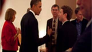 President Obama Meeting Steve Jobs, Mark Zuckerberg & Eric Schmidt! Biggest CEO GeekParty 2011!