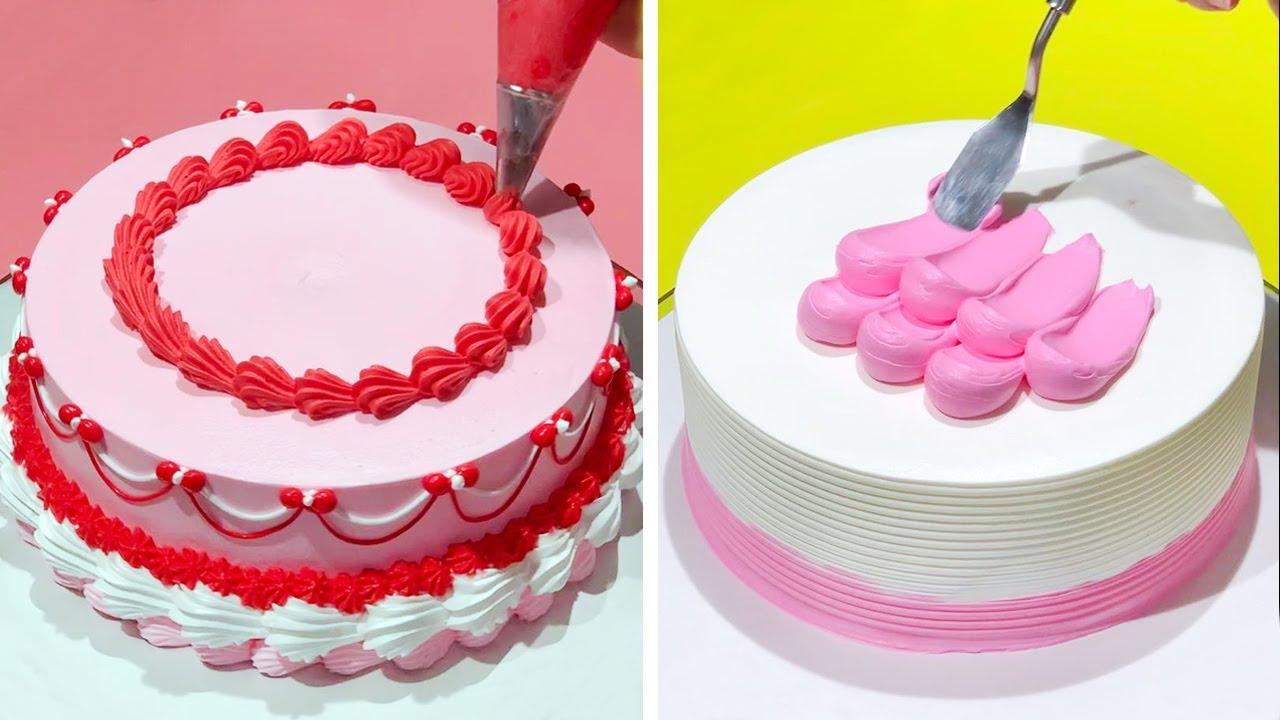 Simple & Beautiful Cake Decorating Tutorials as Professional | Most Satisfying Chocolate Cake Design