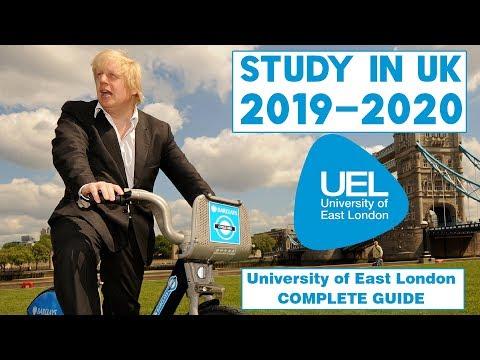Study In University of East London UK | UEL | Study Abroad 2020 | International Student