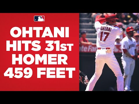 SHOHEI GOES DEEP AGAIN! Shohei Ohtani hits a 459-foot shot for his 31st homer of the year!