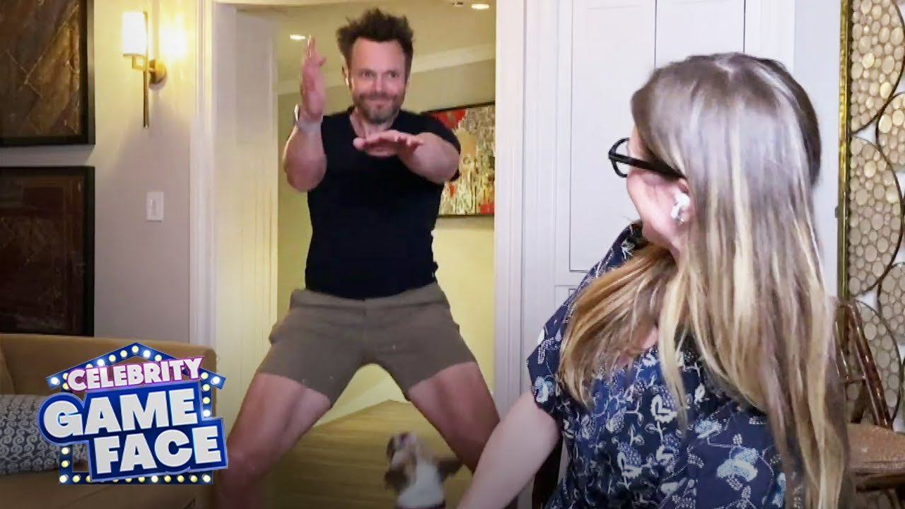 Watch Joel McHale Hilariously Do TikTok Dances | Celebrity Game Face
