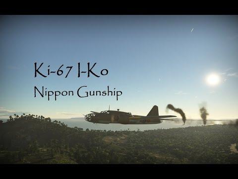 Ki-67 I-Ko  / Nippon Gunship / with Toastman & Red