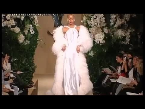 YVES SAINT LAURENT Spring Summer 2001 Paris 9 of 10 Haute Couture by Fashion Channel