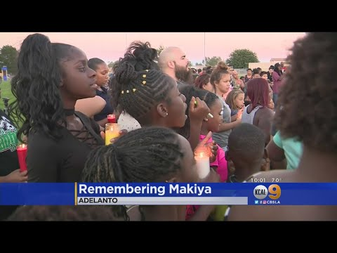 Vigil Held For 12-Year-Old Gunned Down In Her Victorville Home