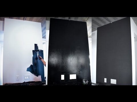 r alisation d 39 un tableau noir magn tique youtube. Black Bedroom Furniture Sets. Home Design Ideas