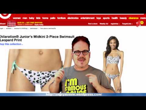 5f8b56b293 Target's horrible Photoshop fail with junior swimsuit model - WTF Wednesday