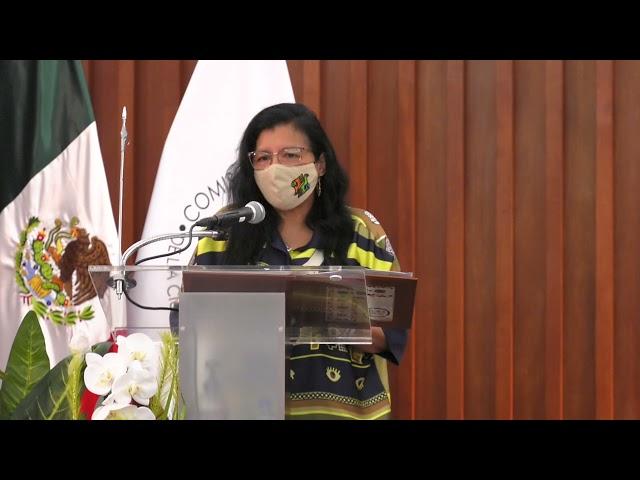 Discurso de la Ombudsperson capitalina, Nashieli Ramírez, en la Firma con el Colegio de Bachilleres