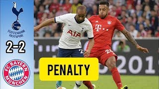 Бавария - Тоттенхэм 2 - 2 Пен (5 6) Обзор Матча Кубок Audi 2019 31 07 2019