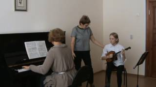 Усупова Л.О. Воспитание навыков взаимодействия с концертмейстером на уроках специальности в классе д