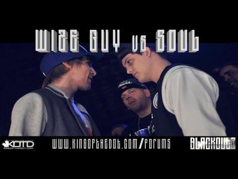 KOTD - Rap Battle - Wize Guy vs Soul *Co-Hosted By Maestro Fresh Wes*