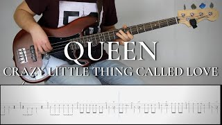 Queen CRAZY LITTLE THING CALLED LOVE Bass Cover Tab Tutorial Lesson.mp3
