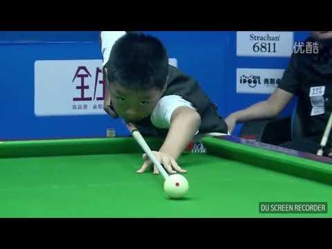 AMAZING!! Anak Kecil Jago Billiard Mengalahkan Orang Dewasa